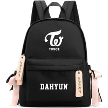 Load image into Gallery viewer, TWICE Cute Design Korean Backpack