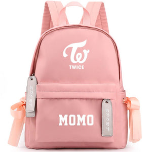 TWICE Cute Design Korean Backpack