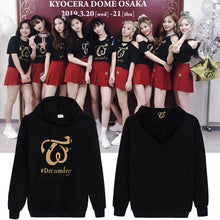 Load image into Gallery viewer, Twice Dreamday Concert Printed Casual Hoodie