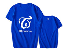 Load image into Gallery viewer, TWICE Dreamday Concert Printed Casual T-shirt