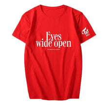 Load image into Gallery viewer, TWICE Eyes wide open T-shirt