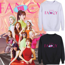Load image into Gallery viewer, TWICE FANCY YOU Album Printed Loose Sweatshirt
