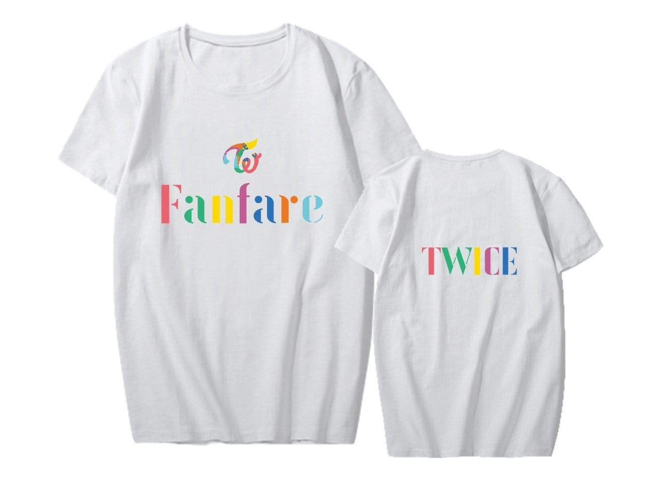 TWICE Fanfare Printed T-shirt