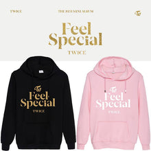 Load image into Gallery viewer, TWICE Feel Special Album Printed Cotton Casual Hoodie