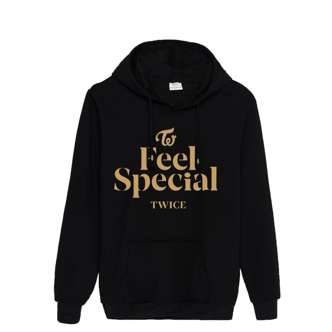 TWICE Feel Special Album Printed Cotton Casual Hoodie