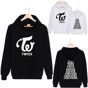 TWICE Member Printed Cotton Hoodie