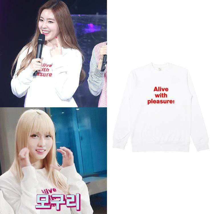 Twice MOMO Same Cotton Sweatshirt