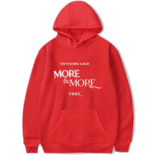 Load image into Gallery viewer, TWICE MORE & MORE Album Cotton Casual Hoodie
