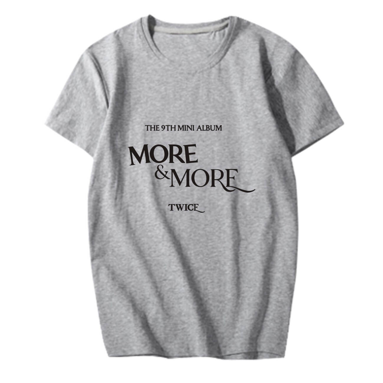 TWICE MORE & MORE Concert Printed Loose T-shirt