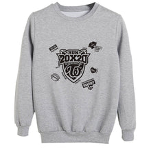 Load image into Gallery viewer, TWICE RUN 20X20 Album Printed Cotton Loose Sweatshirt
