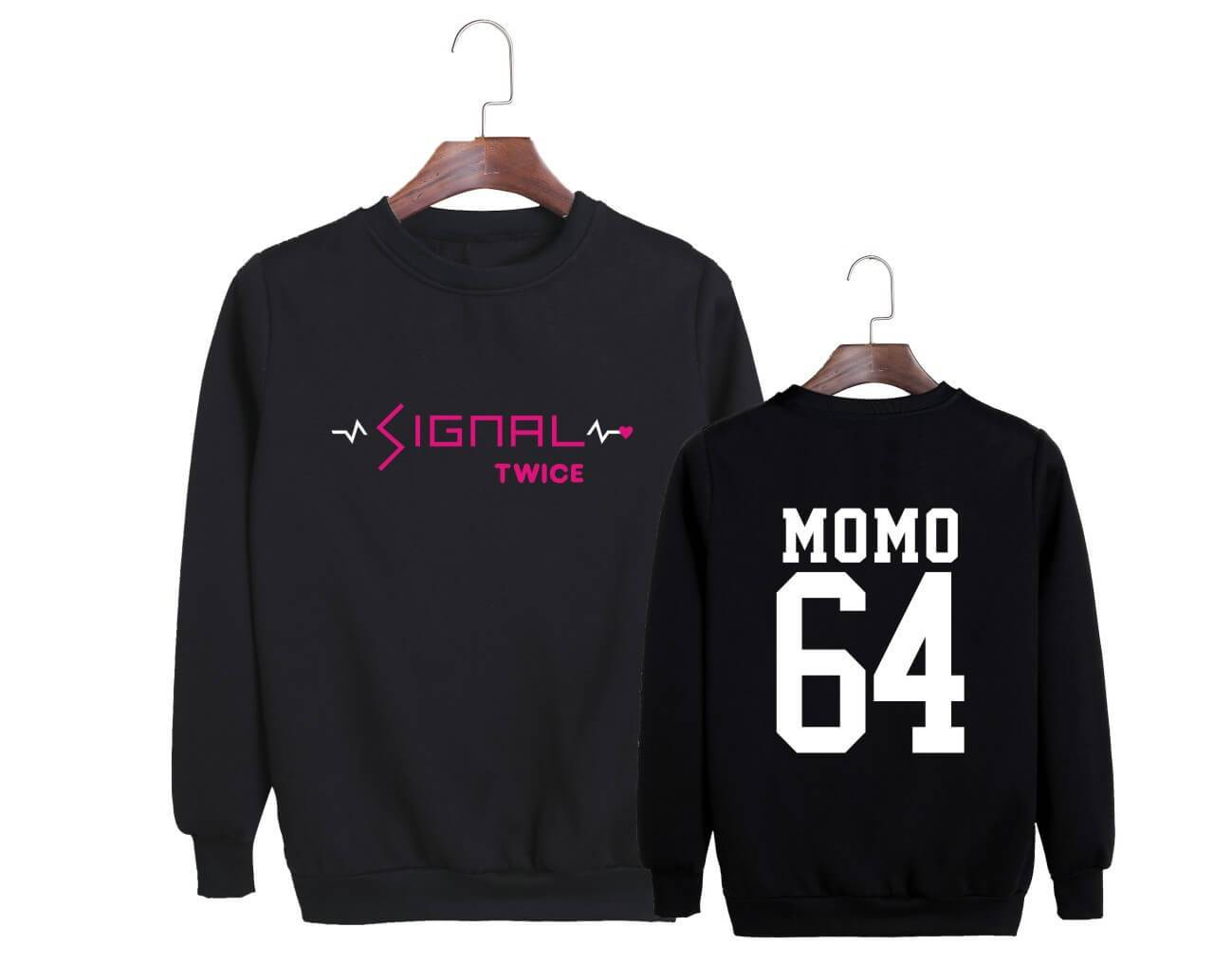 Twice SIGNAL Album Printed Casual Sweatshirt