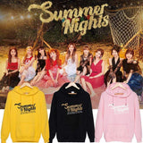 TWICE Summer Nights Album Printed Cotton Casual Hoodie