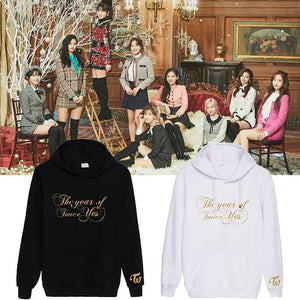 TWICE The year of Yes Album Printed Cotton Casual Hoodie
