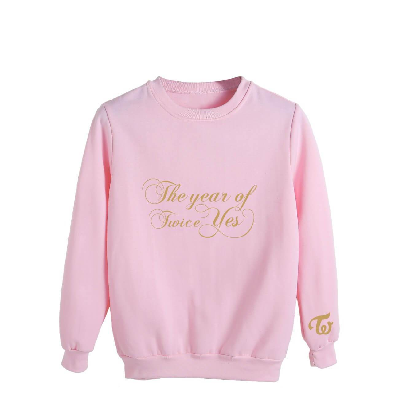 TWICE The year of Yes Printed Cotton Loose Sweatshirt