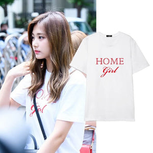 TWICE Tzuyu  Same Letter Printed T-shirt