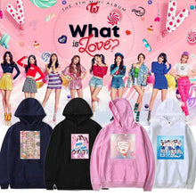 Load image into Gallery viewer, TWICE What is love Printed Hoodie