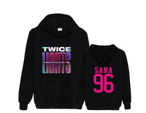 TWICE WORLD TOUR 2019 Concert Printed Casual Hoodie