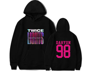 TWICE WORLD TOUR 2019 Concert Same Cotton Hoodie