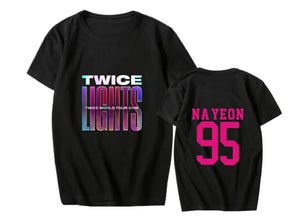 TWICE WORLD TOUR 2019 Printed Casual Loose T-shirt