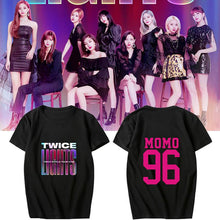 Load image into Gallery viewer, TWICE WORLD TOUR 2019 Printed Casual Loose T-shirt