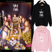"Load image into Gallery viewer, TWICE ""Yes or Yes"" Casual Hoodie"