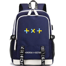 Load image into Gallery viewer, TXT Large Capacity USB Charging Backpack