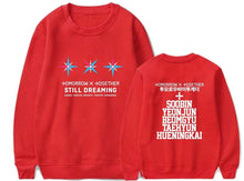 Load image into Gallery viewer, TXT STILL DREAMING Sweatshirt