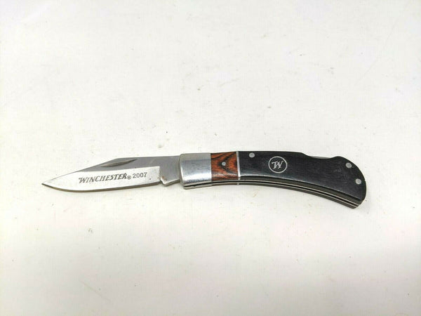 Winchester Arms Limited Edition 2007 Series Folding Pocket Knife Lockback