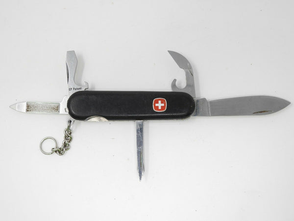 Wenger Delemont Multi Function Swiss Army Knife - Screw Driver, Nail File