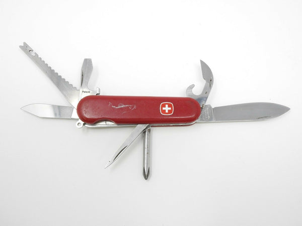 Swiss Army Knife by Wenger Fish Scaler Delemont Multi Tools