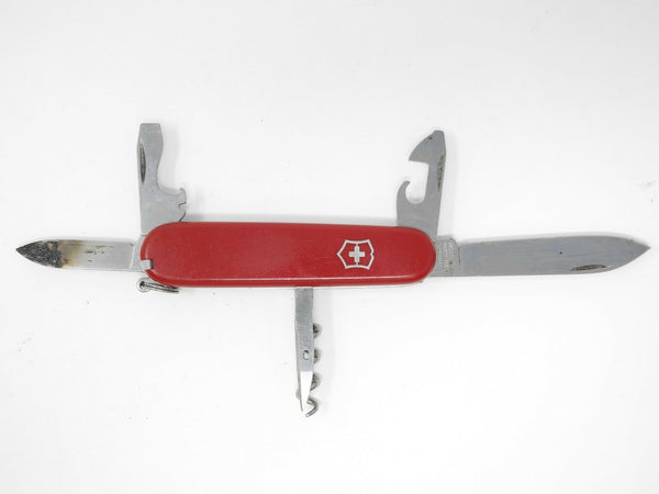 VICTORINOX Spartan Officier Suisse 8 tools Swiss Army Knife (Various, *Damaged*)
