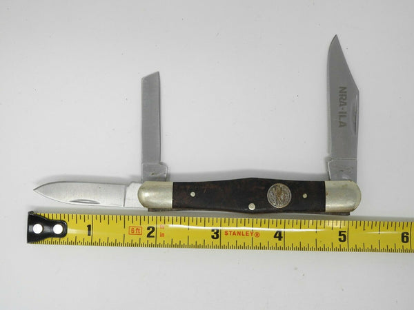 NRA ILA Stone River 3Blade Pocket Knife  !