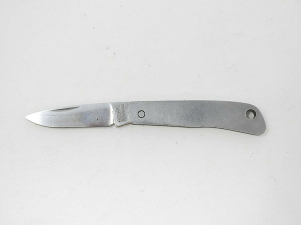 Gerber Portland OR Silver Knight by Sakai Japan Folding Silver Pocket Knife