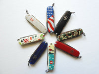 Victorinox Swiss Army Knife 3 Tool (Various Logo/Colors)
