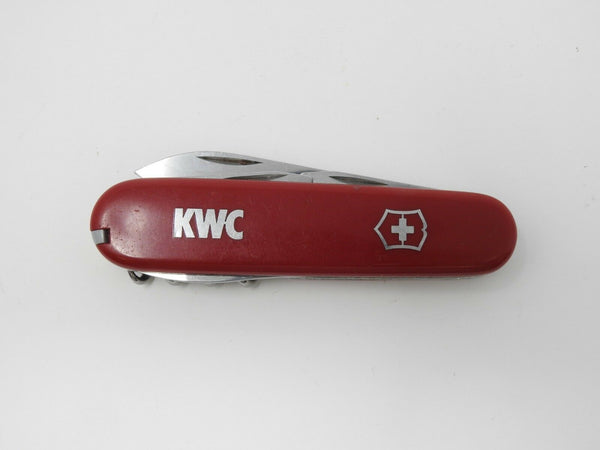 VICTORINOX- Officier Suisse 8 tools Swiss Army Knife *Tight Blades, Chipped*