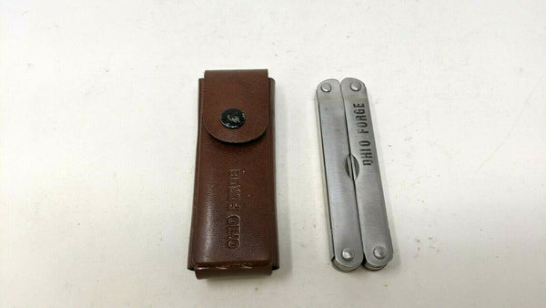 Ohio Forge Stainless Steel Multi Tool Saw Screw Drivers Can Opener **Various**