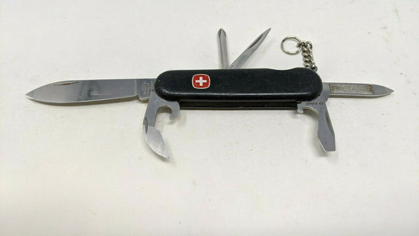 Wenger Tinker Swiss Army Knife Multi Tool Black Screwdriver Can/Bottle Openers