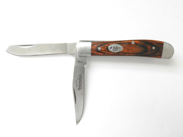 Remington Sportsman Series Trapper 2Blade Wood Folding Knife