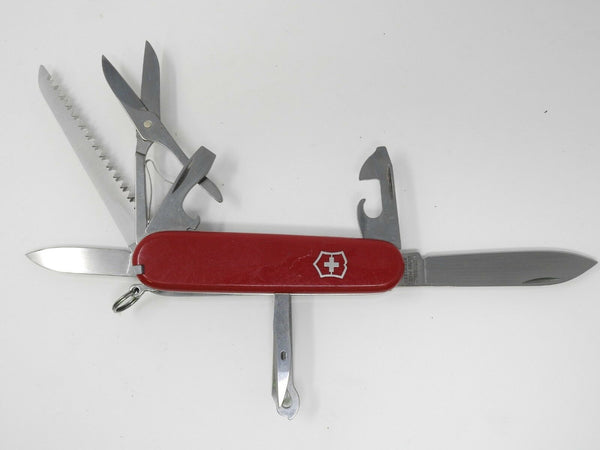 Victorinox 9-Tool Swiss Army Pocket Knife w/ Hook, Screwdriver
