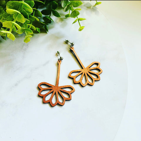 Sunflower Drop Earrings - Heir Jewellery