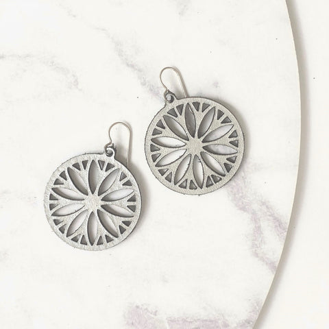 Daisy Wheel Earrings - Heir Jewellery