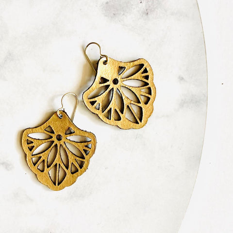 Filigree Fan Earrings - Heir Jewellery