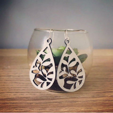 Leaf Earrings - Heir Jewellery