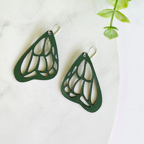 Wanderer Butterfly earrings - Heir Jewellery