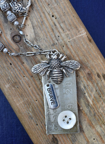 Bee Brave Necklace