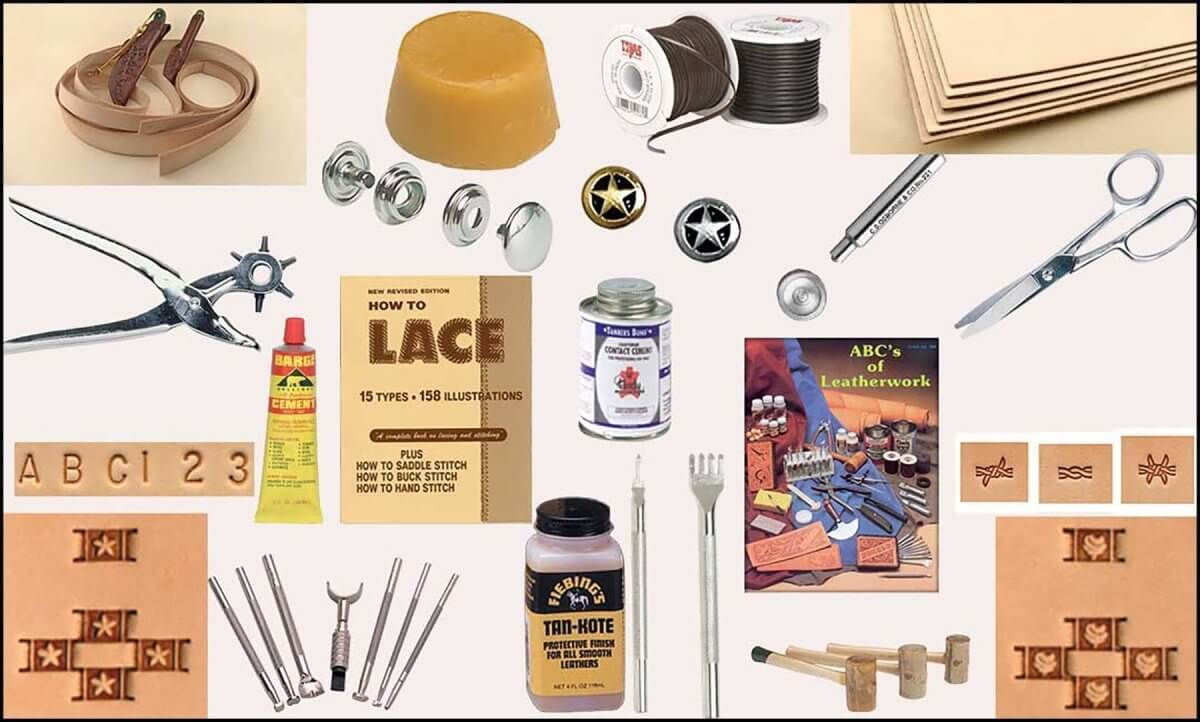 Leather Craft Supplies