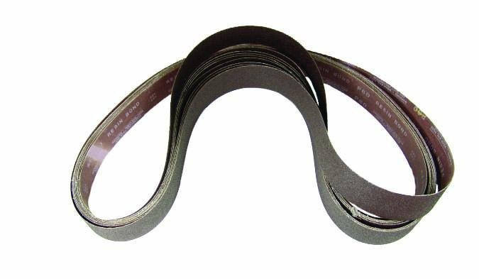 Aluminum Oxide Resin Bond Belts - Jantz Supply