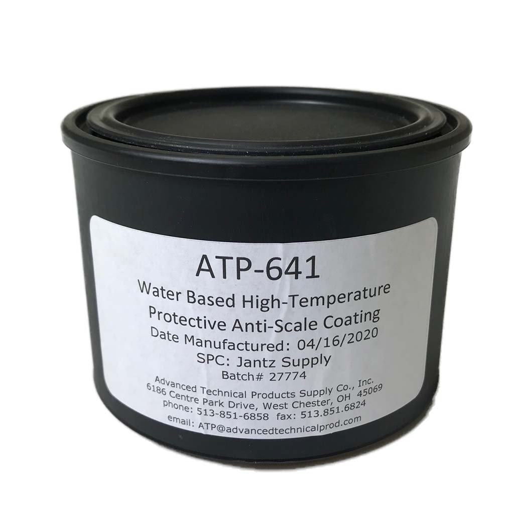 Anti-Scale Coating for Heat Treating ATP 641 - Jantz Supply