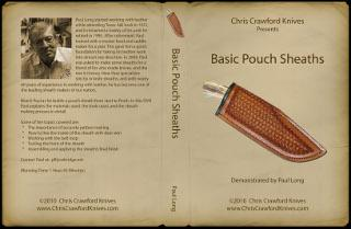 Basic Pouch Sheaths by Paul Long (DVD) - Jantz Supply