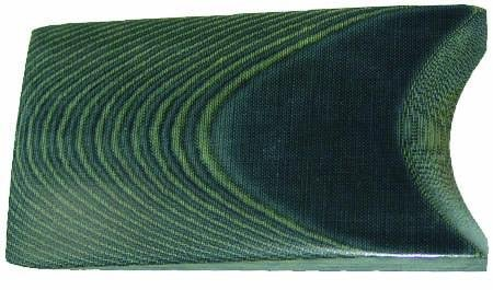 Black & Green 1 Ply Micarta - Jantz Supply